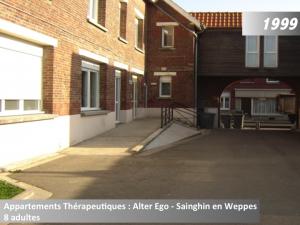 Appartements thérapeutiques Alter-Ego à Sainghin en Weppes